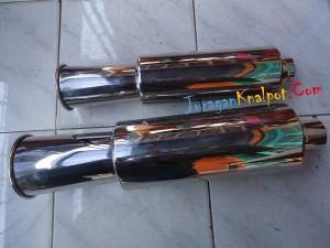 Knalpot Mobil Model Spoon Besar