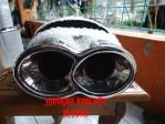 Knalpot Mobil Sebring Dobel Remus Angka 8 HKS