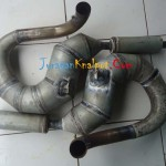 Vespa Racing Pro Drag Model Udang Kanan