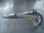 Knalpot Satria 2Tak, RX King dan F1ZR Model Udang Tril Perut Tawon