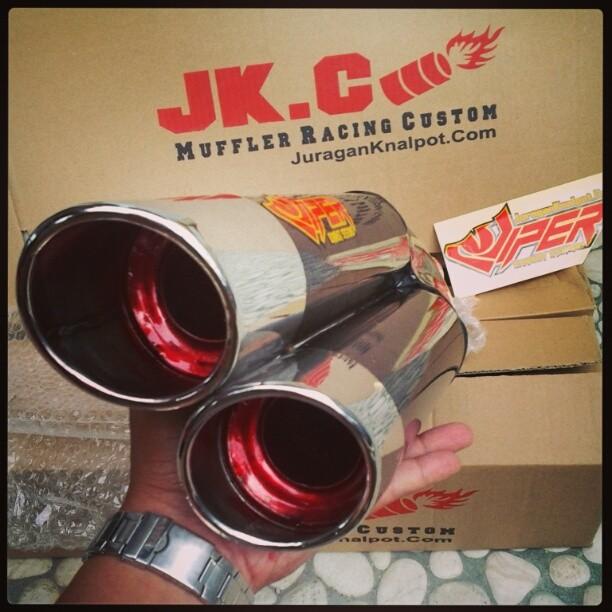 Viper Ixil Carbon Custom by JuraganKnalpot.Com