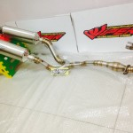 BlackViper Double Muffler for KLX150 dan D-Tracker150