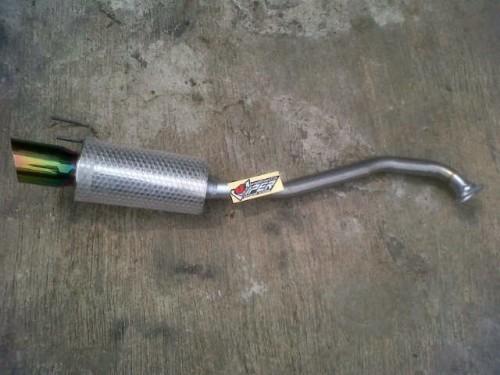 Knalpot bolt on Honda Brio juraganknalpot.com