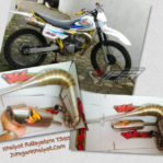 Knalpot TS125 FMF Competition Fullstainless