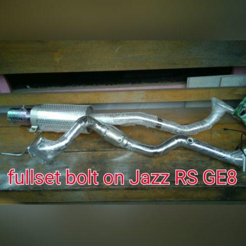 Fullset Bolt On Header Honda Jazz RS Type GE8 by JuraganKnalpot.Com