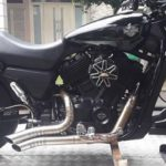 Jual Knalpot Custom Truedual Harley-Davidson Street 500 Super Blaarrghh!