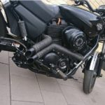 Knalpot fullsystem Harley-Davidson Street 500 @juraganknalpot.com