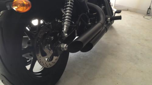 JuraganKnalpot.Com - Jual Knalpot Custom Truedual Harley-Davidson Street 500 Super Blaarrghh!
